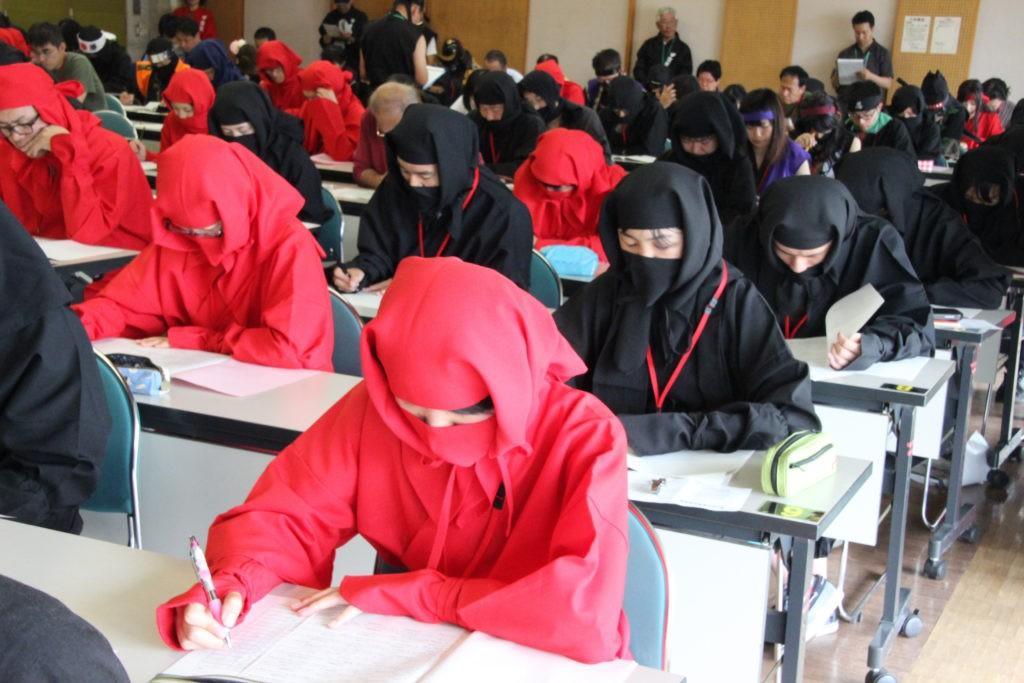 Examen para ser ninja se celebrará en Tokio