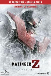 Cinemex anunció a través de sus redes sociales el estreno de Mazinger Z infinity en México