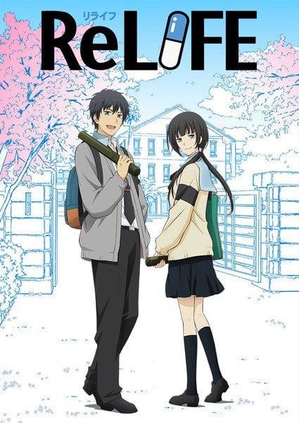 Imagen promocional de ReLIFE: Kanketsu-hen