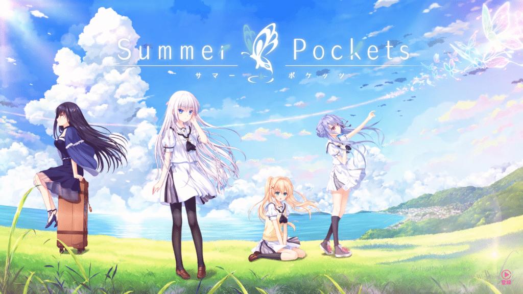 Imagen promocional de Summer Pockets