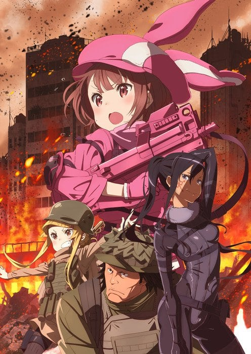 Imagen promocional de Sword Art Online Alternative: Gun Gale Online