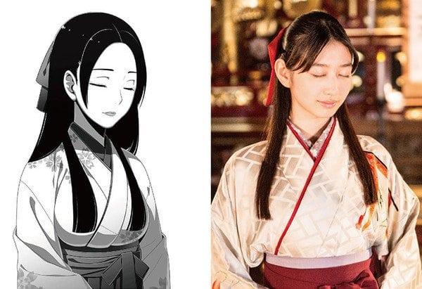 Natsumi Okamoto como Yuriko Nishinotōin