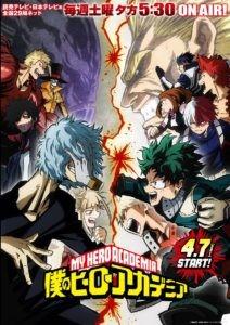 Imagen promocional de Boku no Hero Academia 3