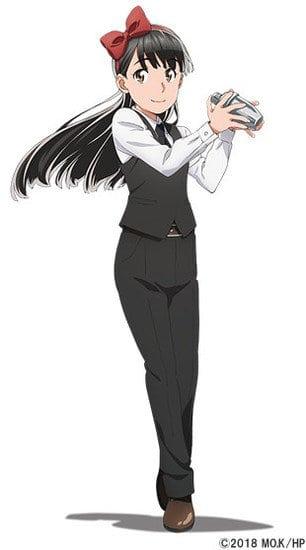 Kaede Hondo como Hitomi Mishima.