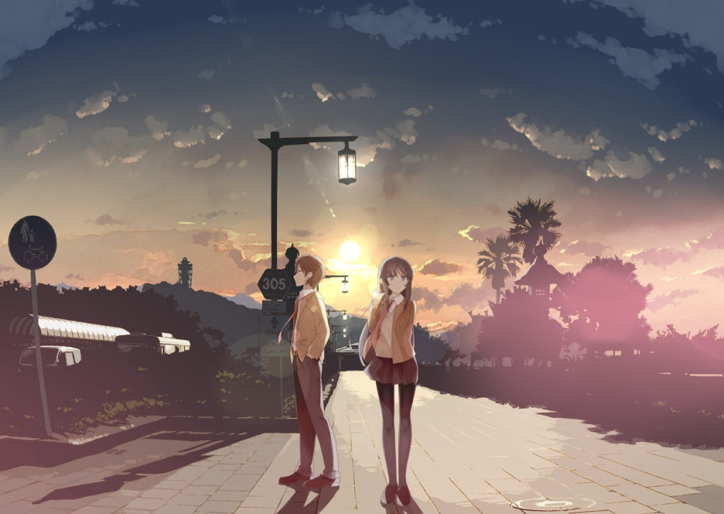 Imagen promocional de Seishun Buta Yarou