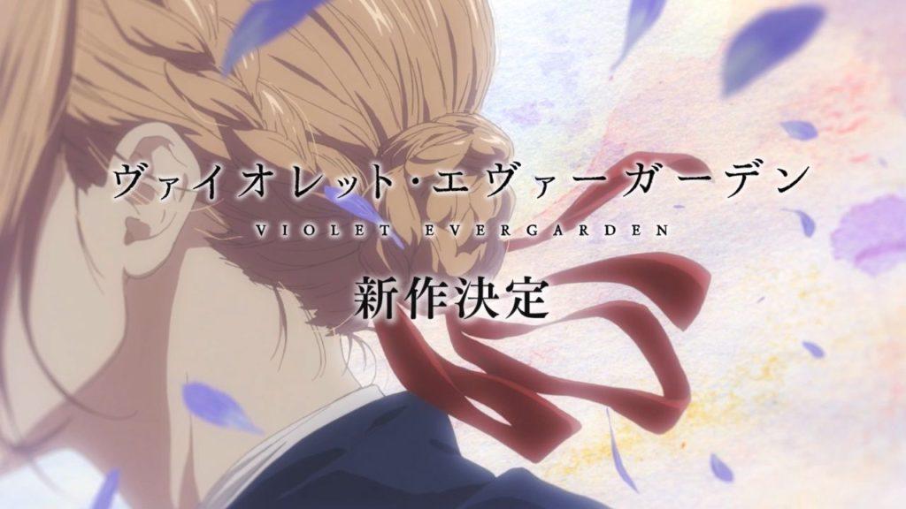 Imagen del episodio final de Violet Evergarden