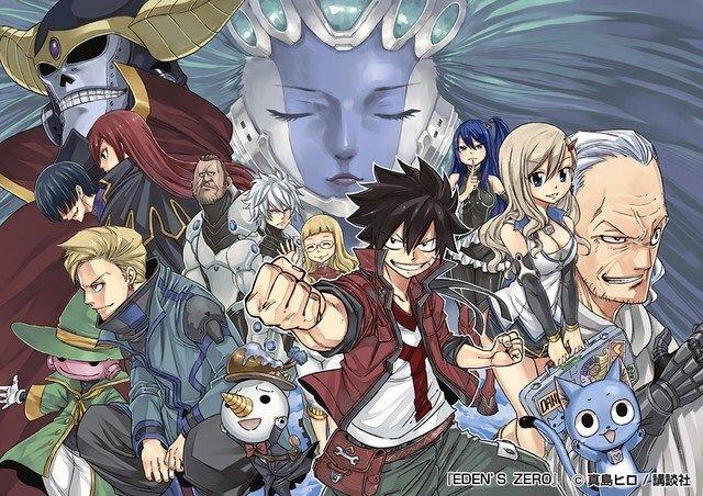 Imagen promocional de Eden's Zero