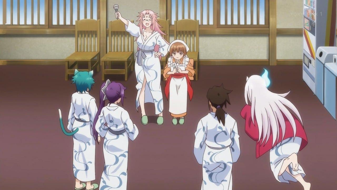 Yuragi-sou no Yuuna-san - Capítulo 2