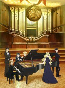 Imagen promocional de la segunda parte de Piano no Mori