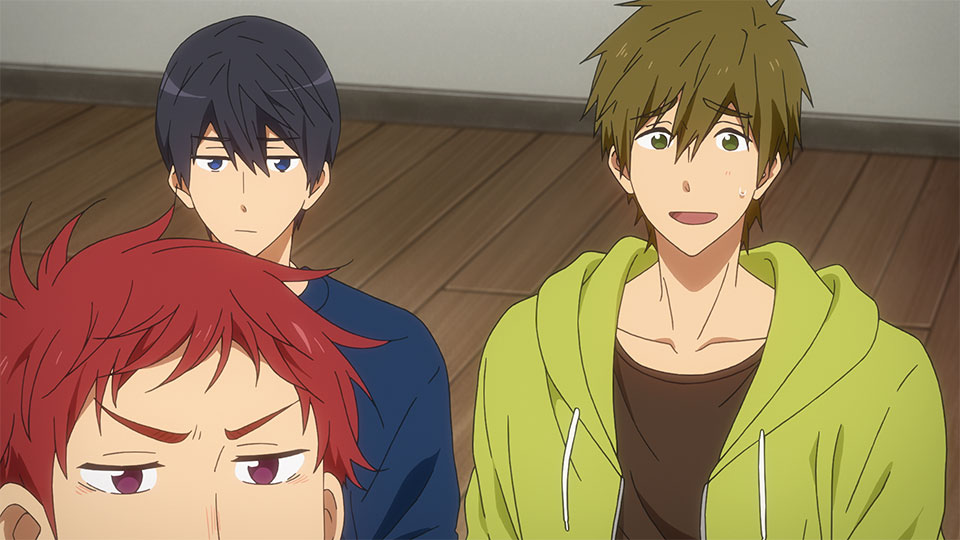 reseña Free! Dive to the Future Capítulo 5