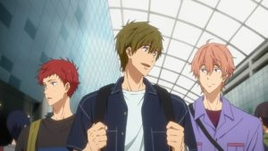 reseña Free! Dive to the Future Capítulo 11