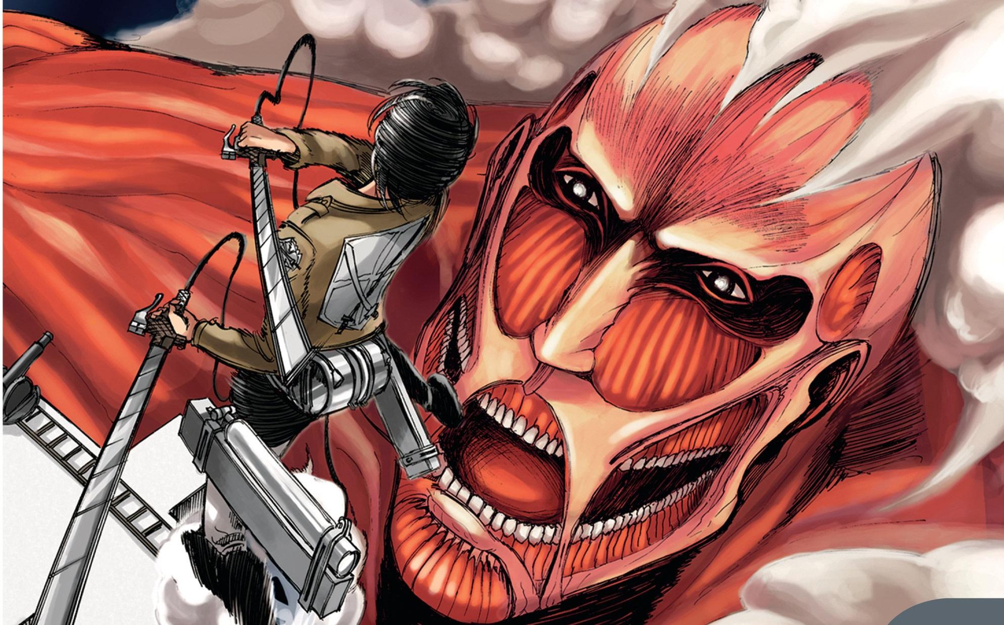 El manga de Shingeki no Kyojin entra en su arco final — Kudasai
