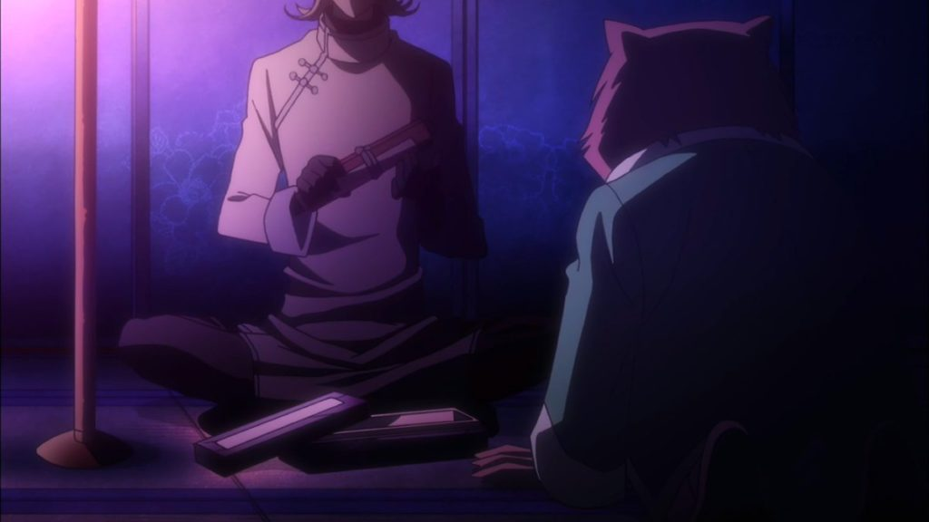 reseña Fukigen na Mononokean Tsuzuki - Capítulo 2