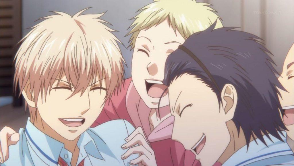 Chika rie con sus amigos