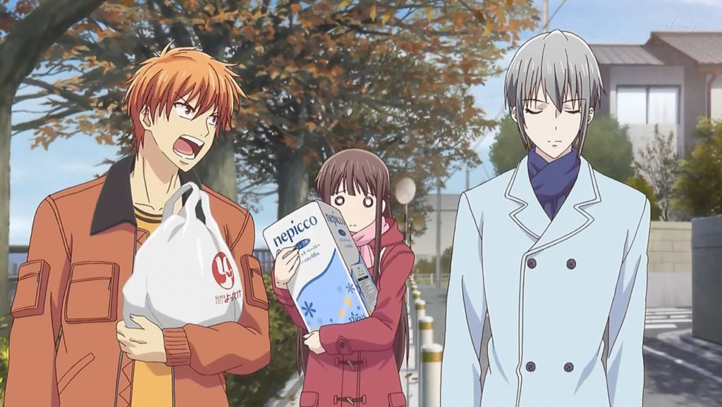 Fruits Basket capítulo nueve
