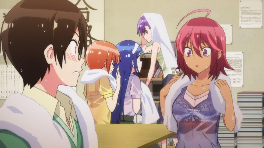Bokutachi wa Benkyou ga Dekinai - Capítulo 10