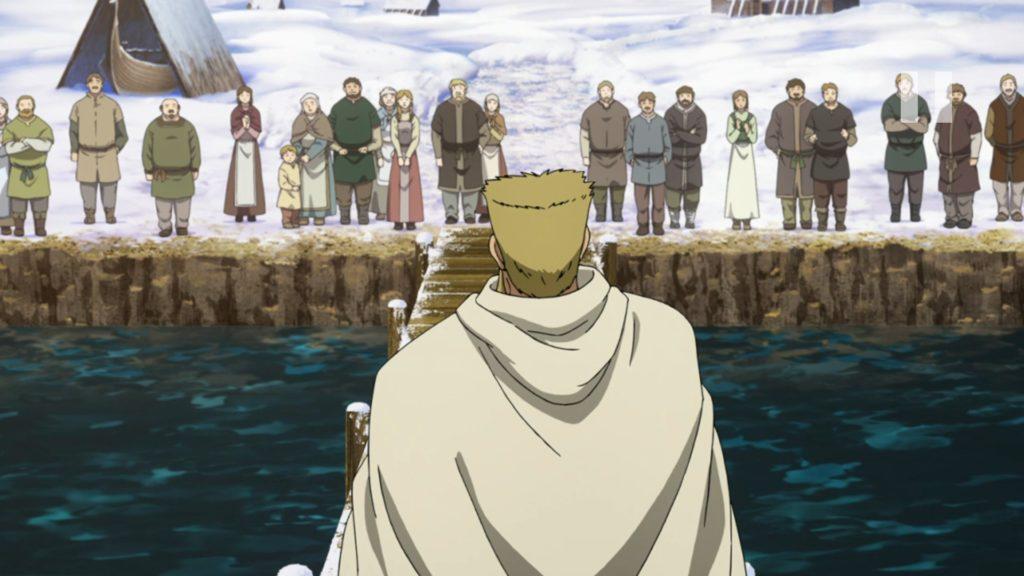 Floki invita a los aldeanos a acompañar a Thors