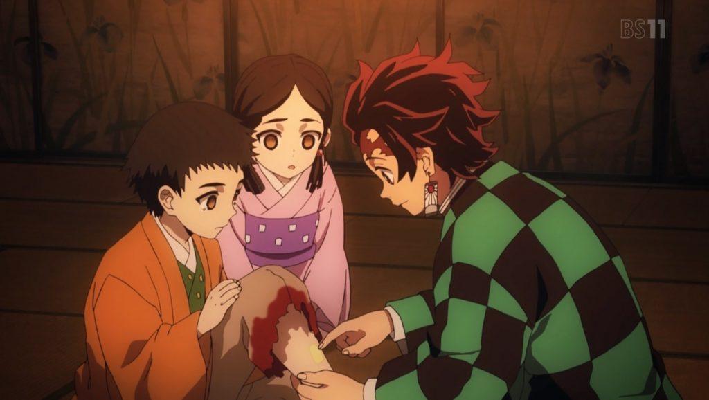 Kimetsu no Yaiba capítulos 12 y 13
