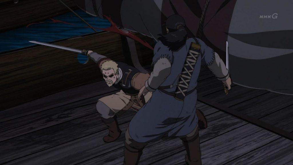 Askeladd hiere a Thors sin su espada