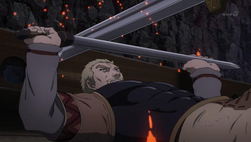 Thors choca espadas con Askeladd