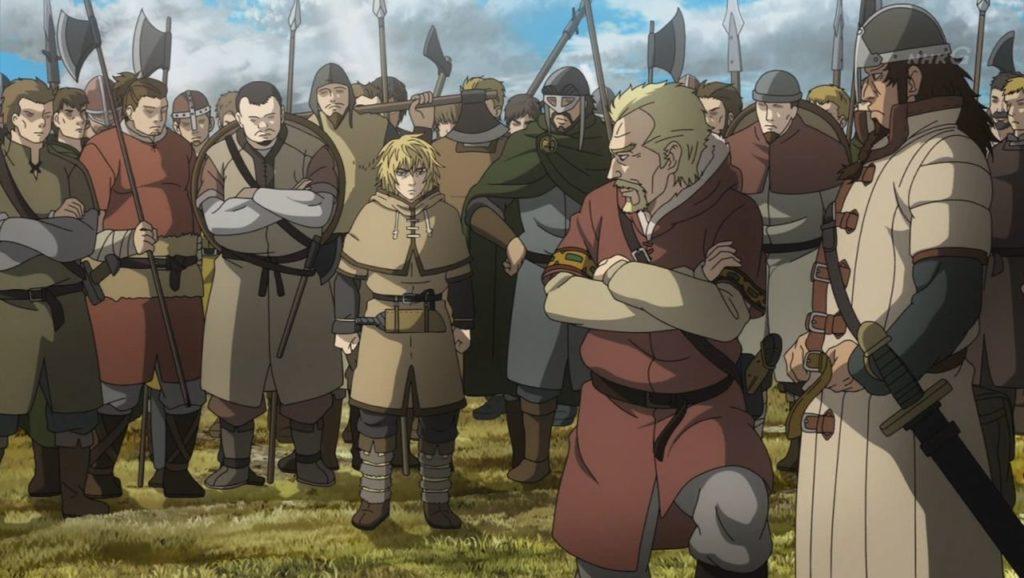 Askeladd envía a Thorfinn a la guerra