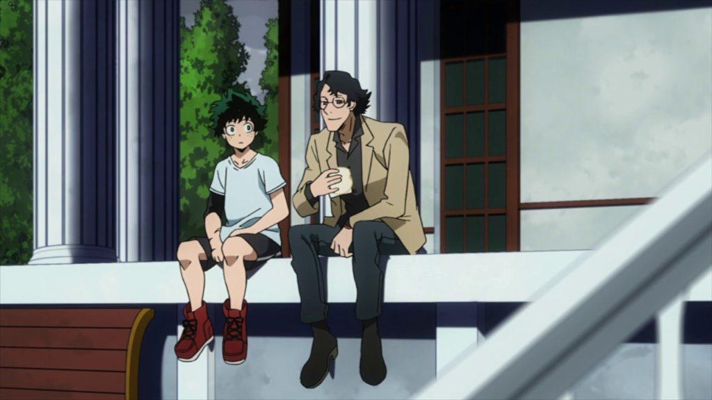 Tokuda hablando con el sucesor.