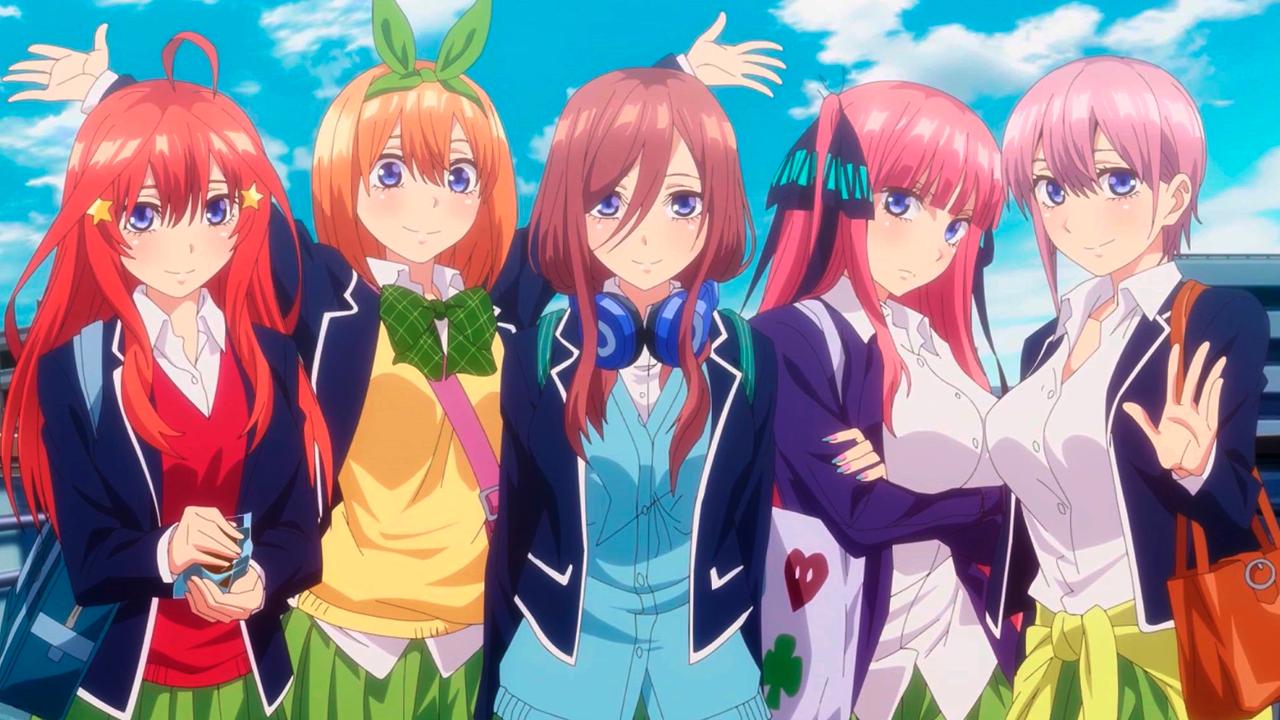La segunda temporada de Go-Toubun no Hanayome se estrenará en otoño de 2020
