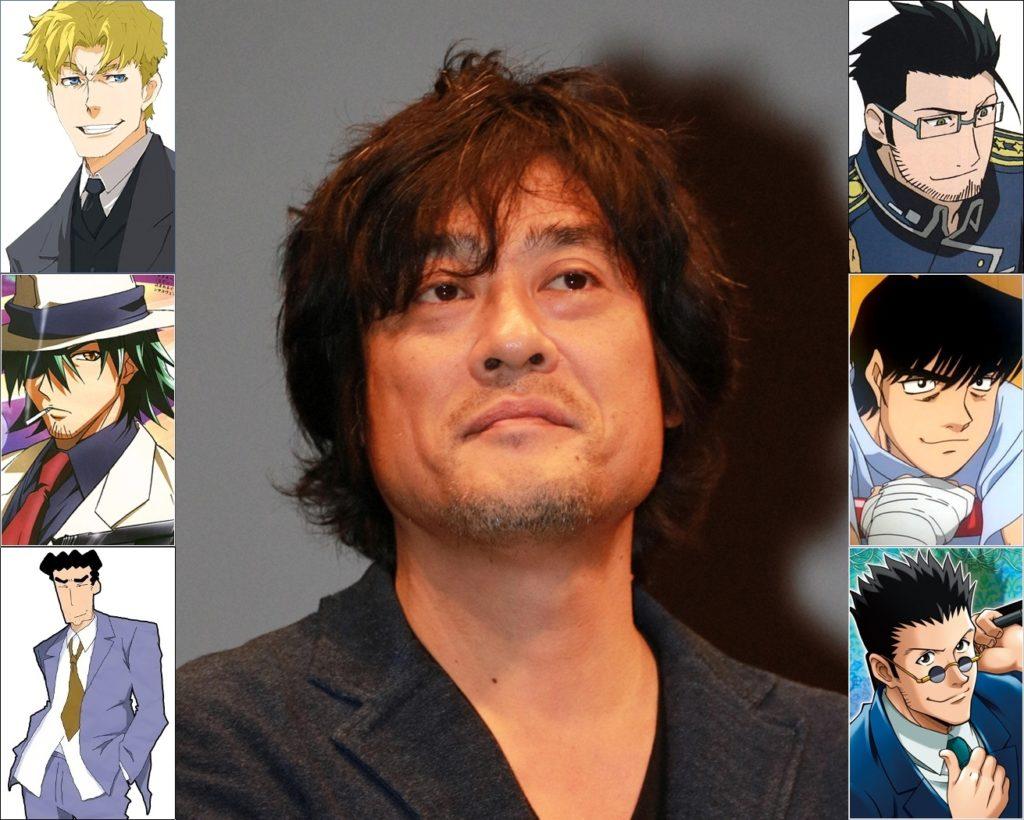 Keiji Fujiwara - Roles Destacados