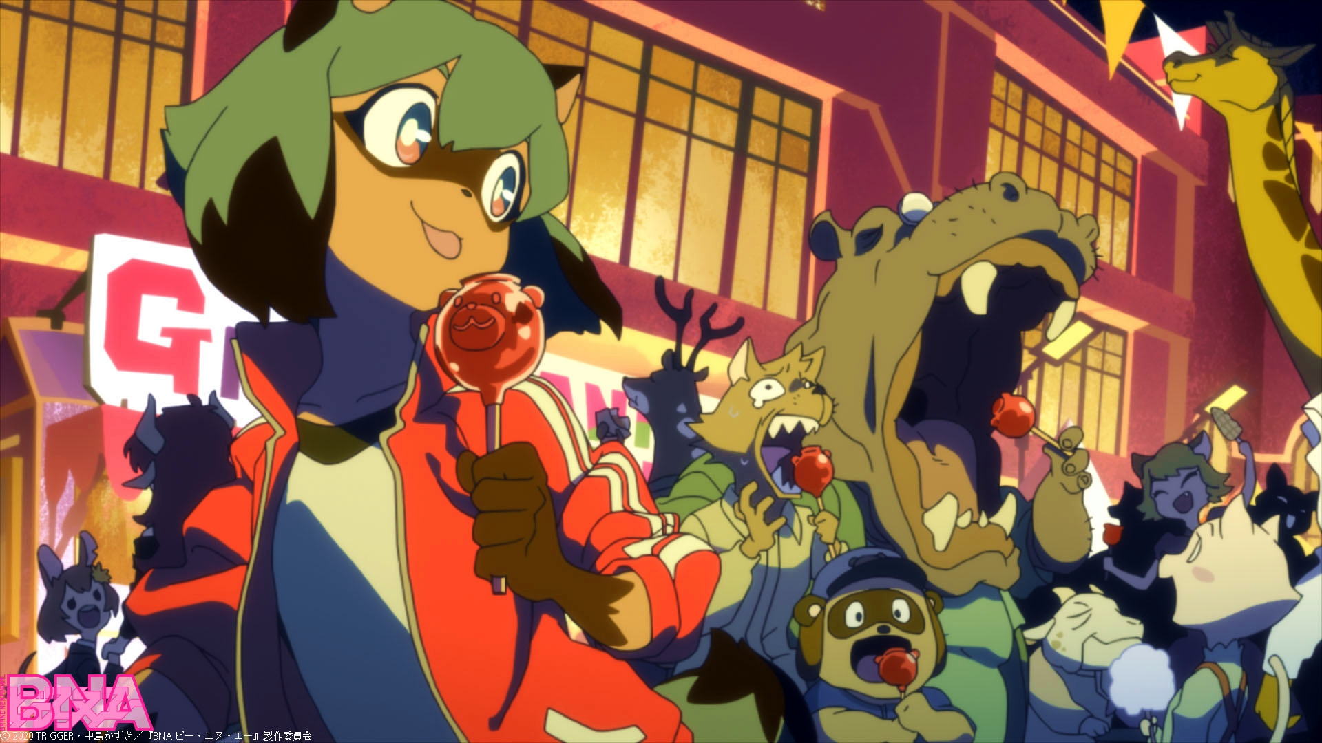 El anime Brand New Animal ya está completamente producido ...