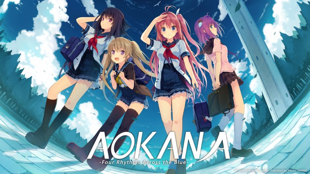 Aokana: Four Rhythms Across the Blue