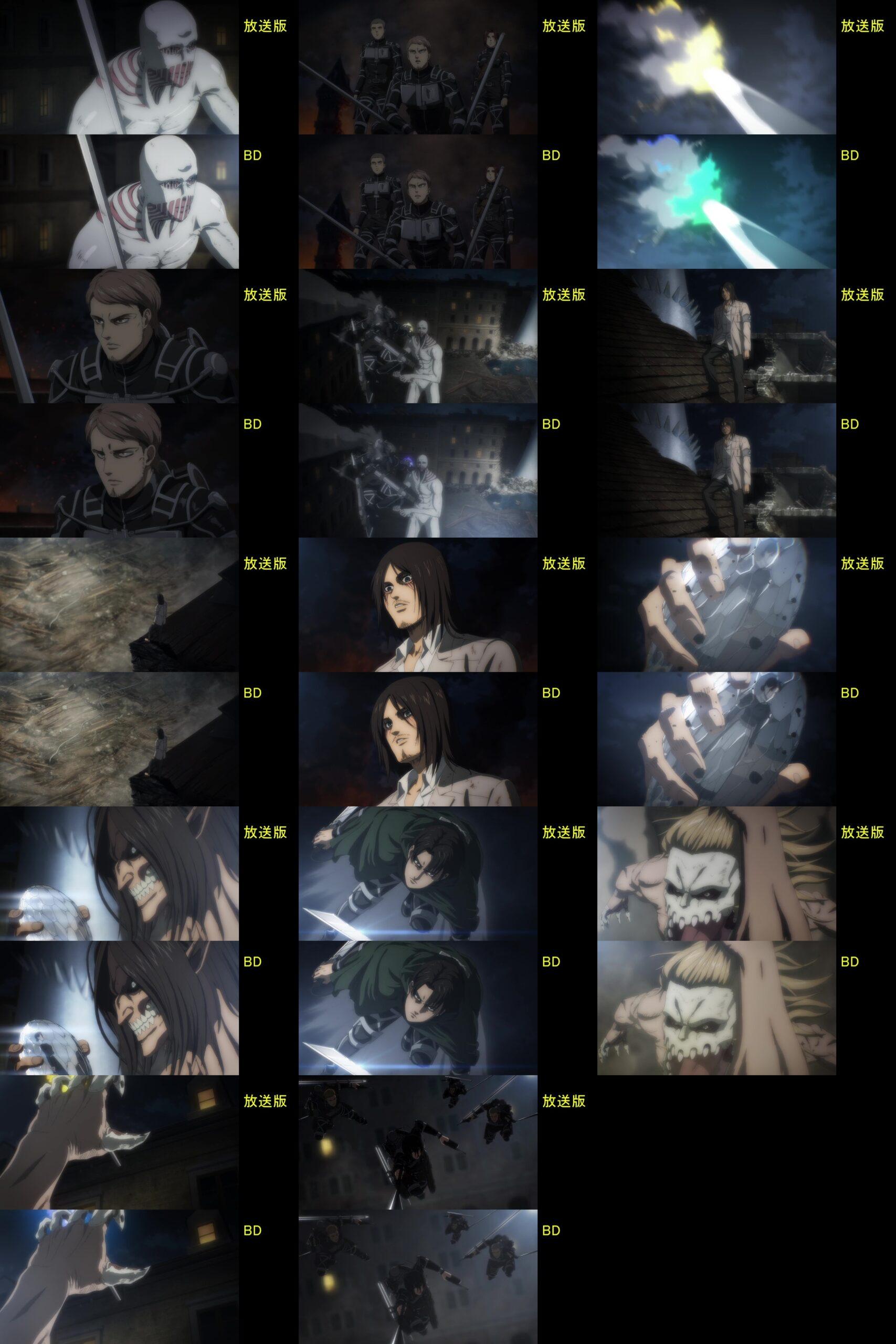 A5 7 scaled - Correções do Anime Shingeki no Kyojin: The Final Season no Blu-ray/DVD.