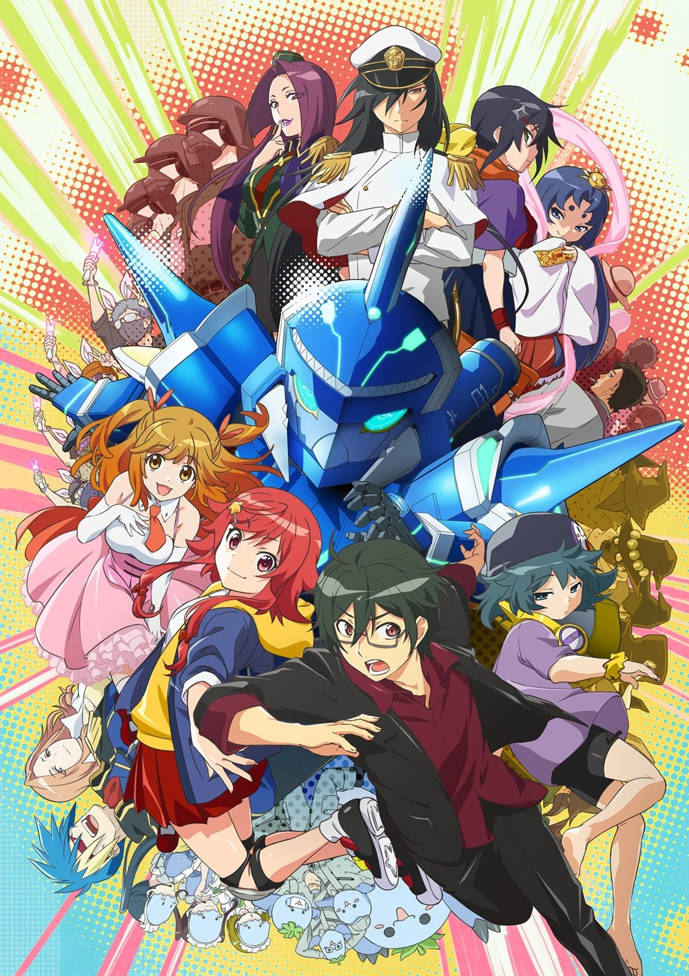 El anime original Gyakuten Sekai no Denchi Shoujo revela un nuevo video promocional